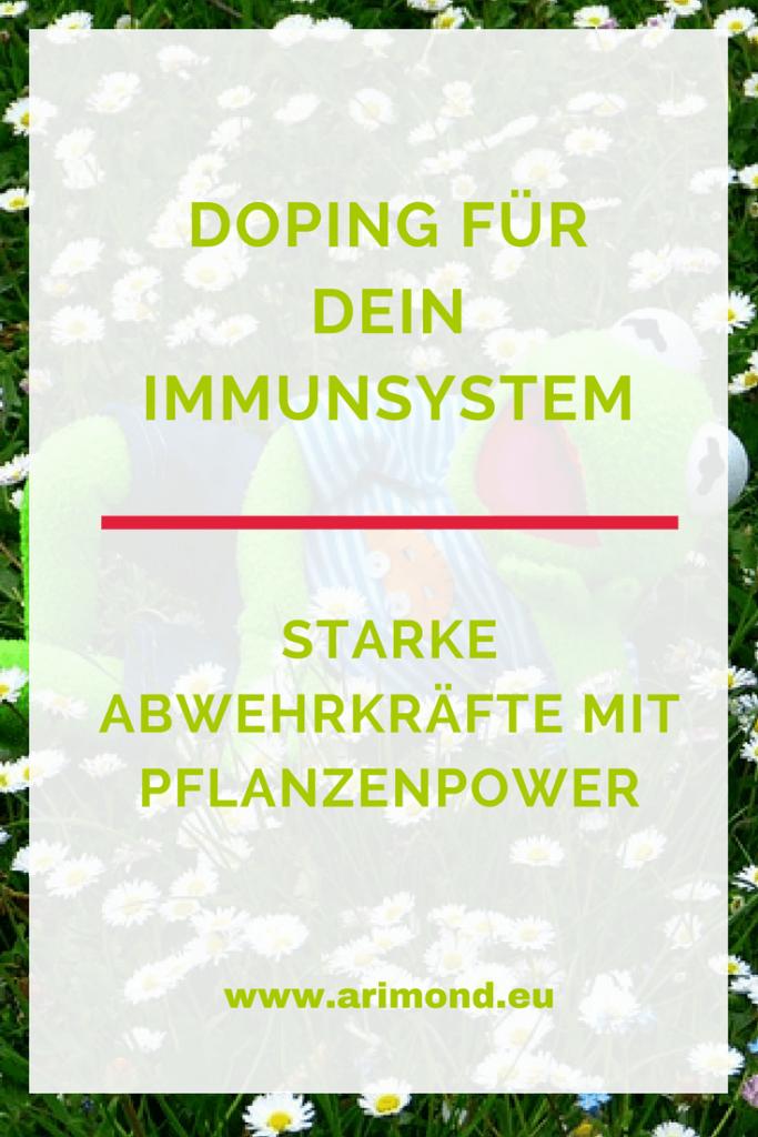 Doping für dein Immunsystem mit Pflanzenpower. Starke Abwehrkräfte mit 3 außergewöhnlichen Kräutern.