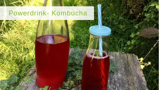 Kombucha – super leckerer Wellnessdrink